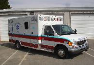 Medic 81 NCEMT-I ALS Level 2009 AEV Ford E-450 Type III