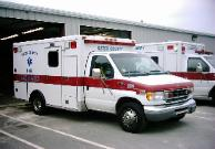 Medic 82 NCEMT-I ALS Level 2000 McCoy Miller Ford E-350 Type III